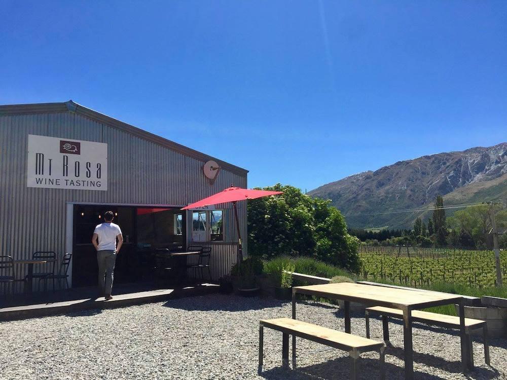 Queenstown, NZ Winery