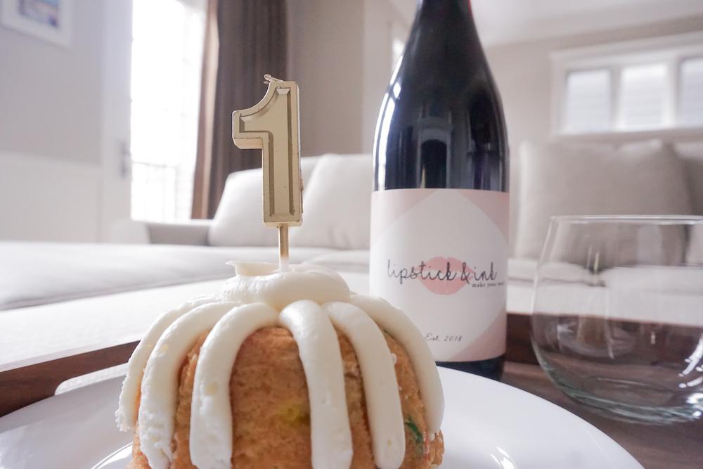 Nothing Bundt Cake + Personal Wine