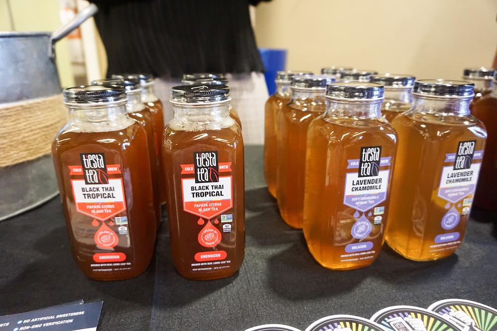 Tiesta Tea cold brew bottles