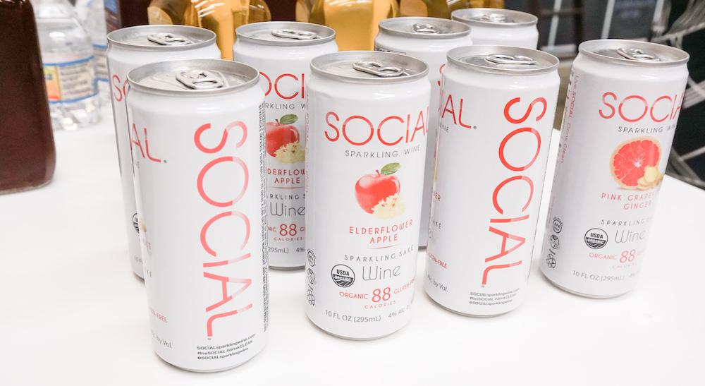 SOCIAL Sparkling Wine