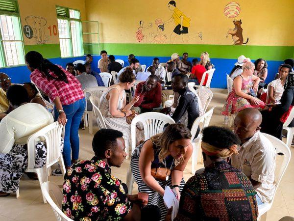 English class in Kigali, Rwanda.