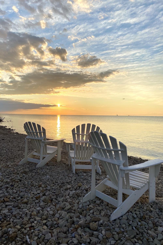 Mackinac Island sunrise.